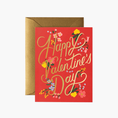 Rifle Paper Co - Valentine's day card - Happy valentine's day