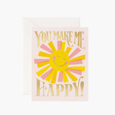 Rifle Ppaper Co - Valentine's day - you make me happy