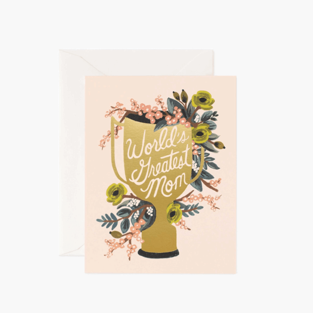 Rifle Paper Co - Greeting card - World's greatest mom