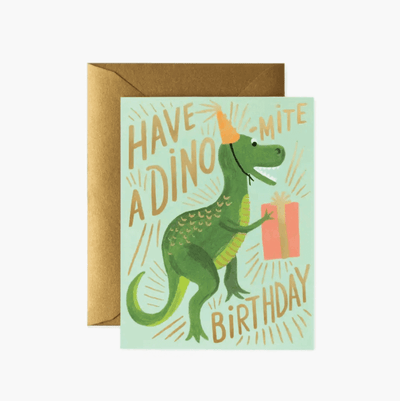 Birthday Card - Dino-mite birthday