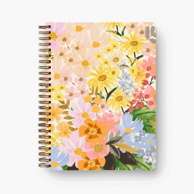 Rifle Paper Co - Spiral notebook - marguerite