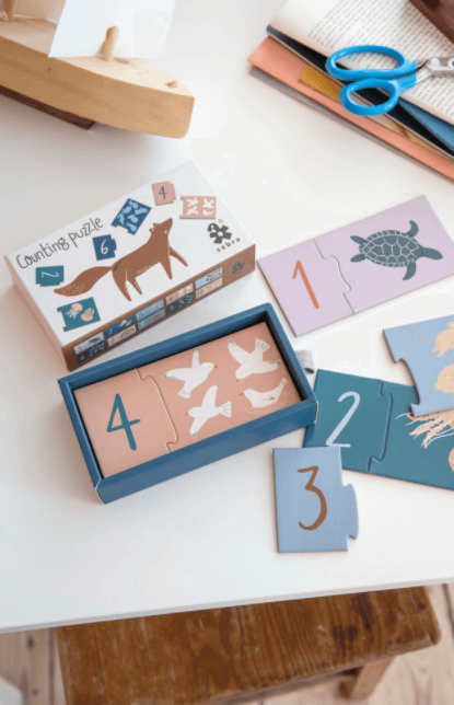 Counting puzzle - 1 to 10