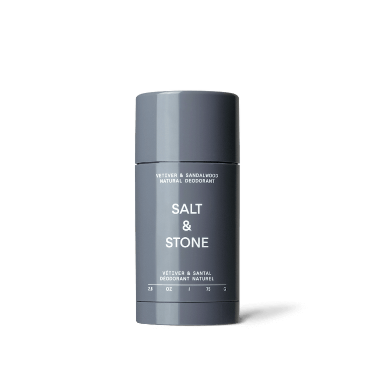 SALT AND STONE - Solid deodorant - vetiver and sandalwood