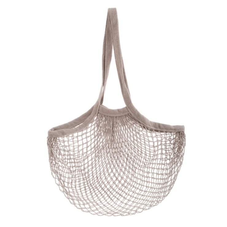 SASS AND BELLE - string shopper bag grey - sustainable and original shopper bag