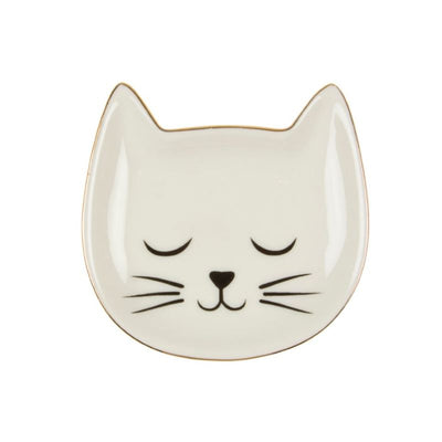 SASS AND BELLE - trinket dish - cat - cute decorative object