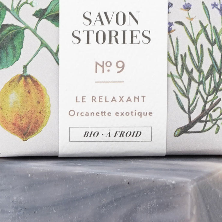 Solid soap - Exotic orcanette n°9