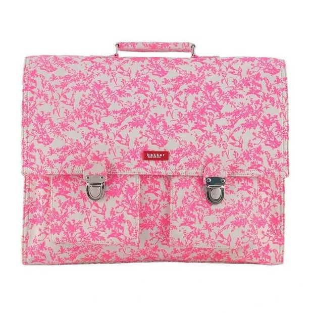 Bakker made with love - Jouy pink childrens satchel