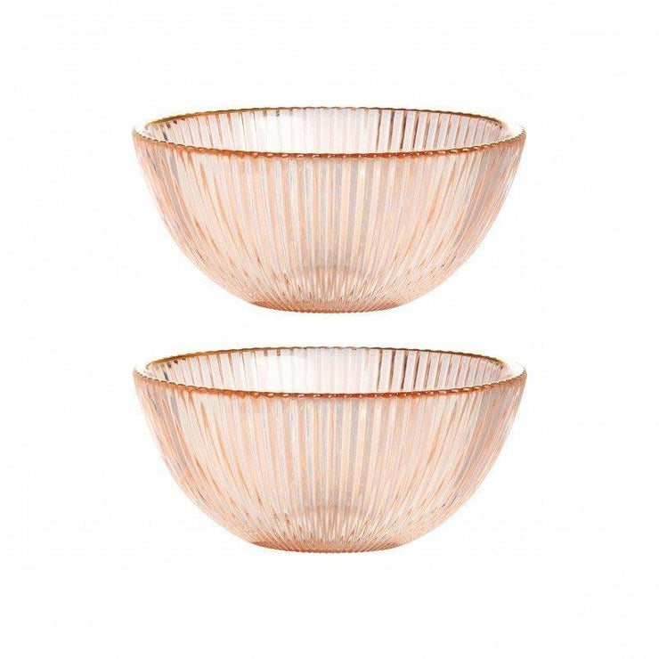 Set of two bowls - Pink