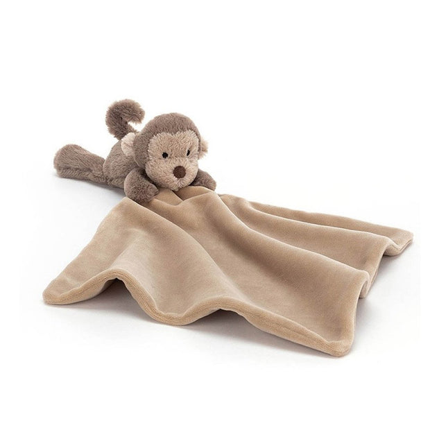 Jellycat monkey soother for baby