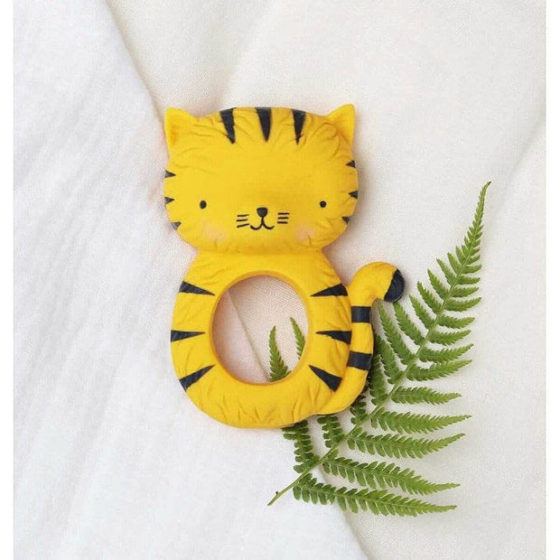 babies teething ring - Tiger