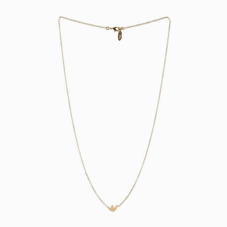 TITLEE - Flatbush necklace - fine gold plated brass - made in France