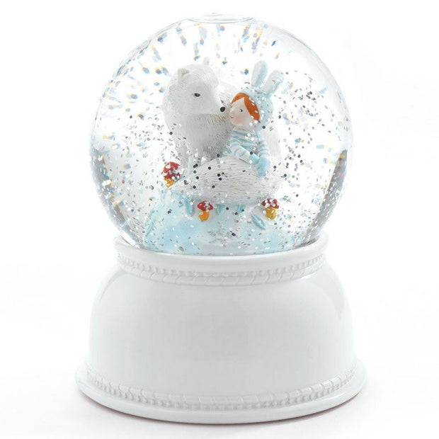 Night light snow globe - Lila & Pupi