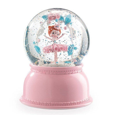 Night light snow globe - Ballerina