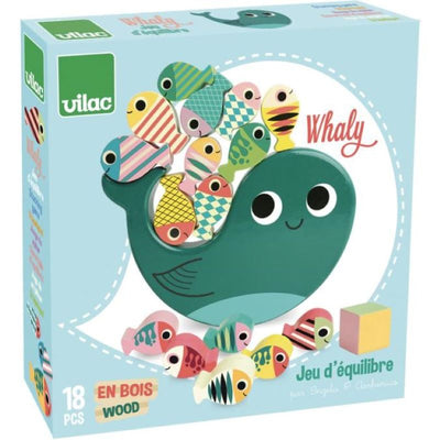 VILAC - balancing game - whaly - educational toy for children