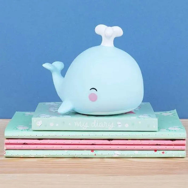 A Little Lovely Company - Cute whale nightlight - gift idea for birth gift