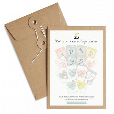 "ZÜ - ""Pregnancy souvenir"" cards - Gift idea"