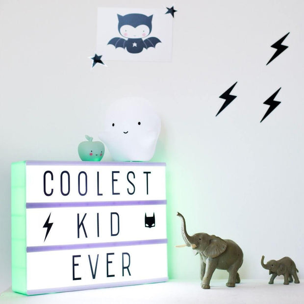 A Little Lovely Company - Ghost Led Lamp for kids - cute nightlight - birth gift idea