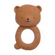 natural rubber bear teething ring