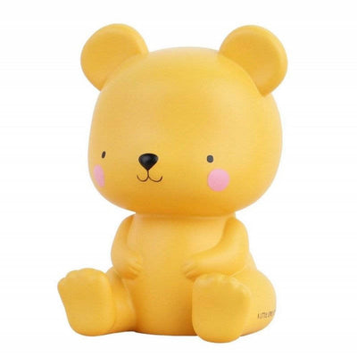 A Little Lovely Company - childrens bear light - salted caramel colour - French Blossom