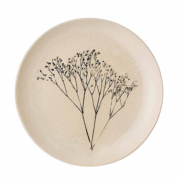 Bloomingville - small plate - bea tableware - spring and floral dish