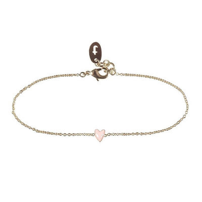 TITLEE PARIS - Heart-shaped Grant bracelet - Pink