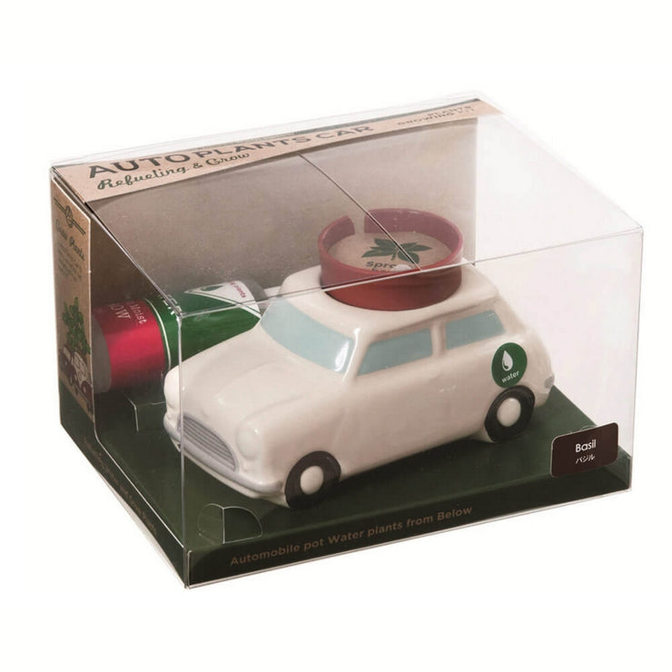 NOTED - Self watering plant - White car - Box