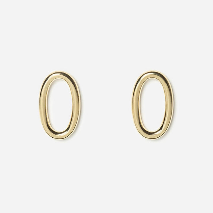 Solo Medium Lisse earrings