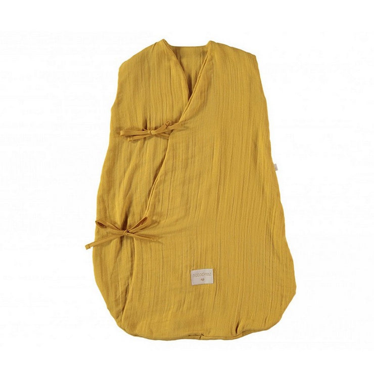 NOBODINOZ - Dreamy sleeping bag - Farniente Yellow - Organic cotton