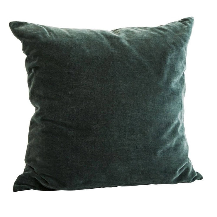 Velvet cushion cover - Green