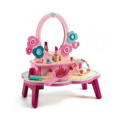 DJECO - Wooden dressing table toy Flora