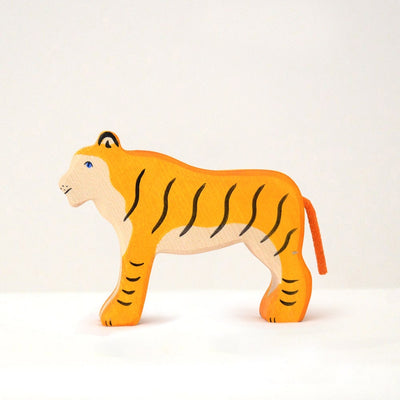 Handmade Wooden Tiger