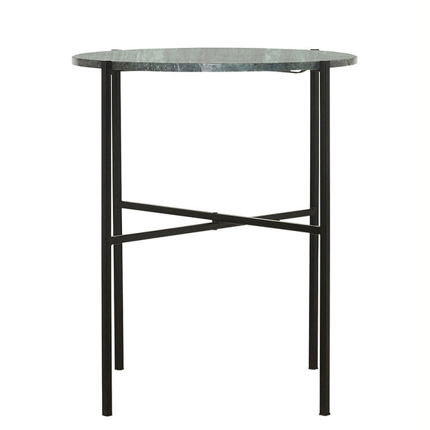 Marble side table - The green