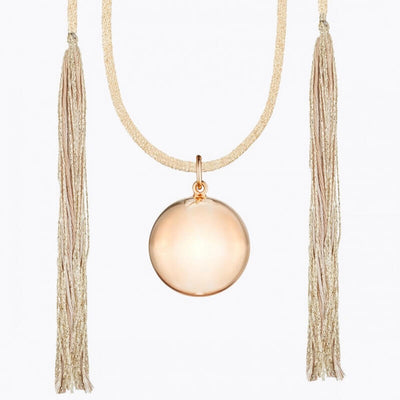 Pregnancy necklace - Acapulco pink gold
