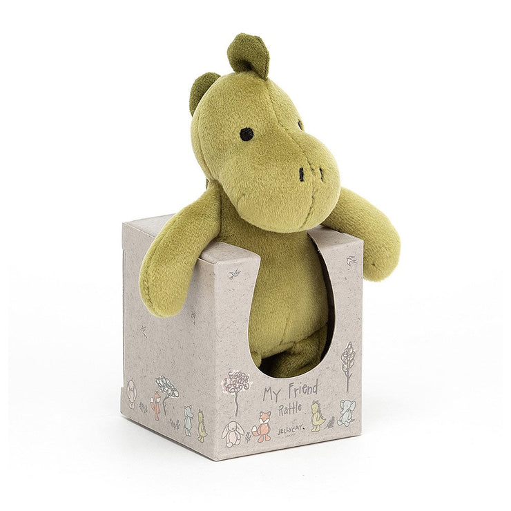 Dinosaur rattle toy -Jellycat