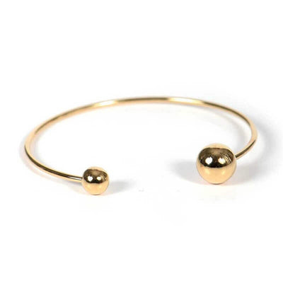 TITLEE - Gold bangle Soho - Made in France