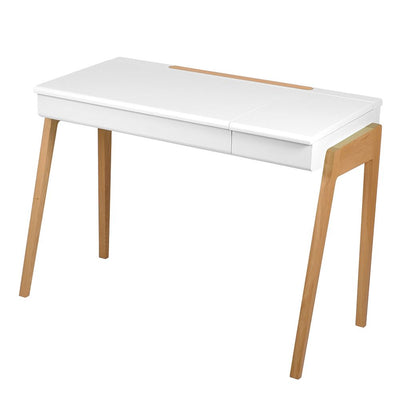 "Large Oak Desk ""My Little Pupitre"" - White"