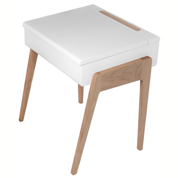 "Oak Desk ""My Little Pupitre"" - White"