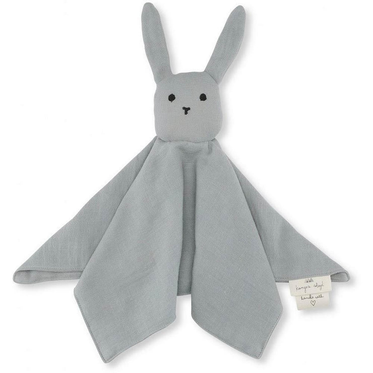 KONGES SLOJD - Rabbit soother in organic cotton - Grey