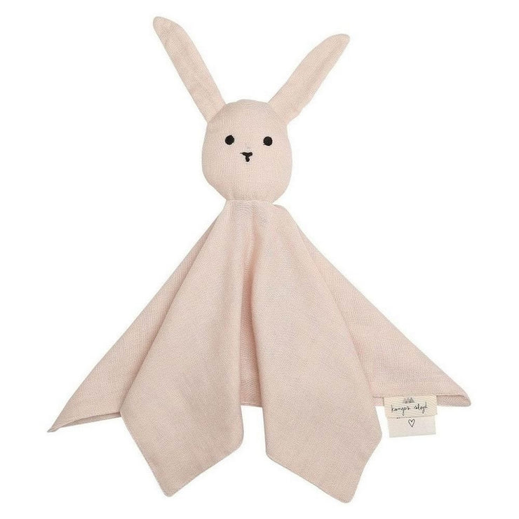 KONGES SLOJD - Rabbit soother in organic cotton - Light pink