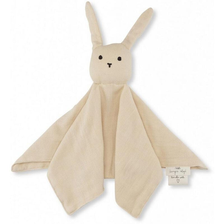 KONGES SLOJD - Rabbit soother in organic cotton - Sand