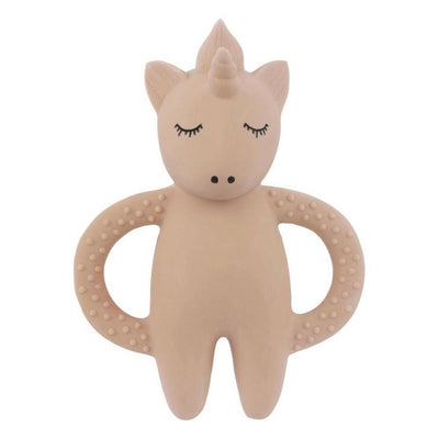 KONGES SLOJD - Natural rubber teether - Unicorn