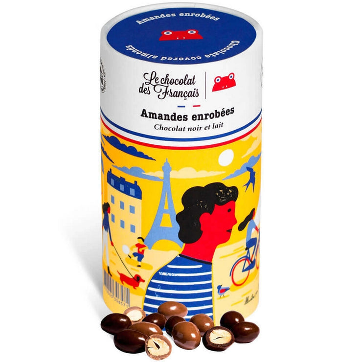 Chocolate covered almonds - Dark and milk chocolate
