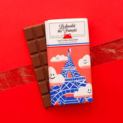 """La Tour Eiffel nuages"" - Milk chocolate and almonds"