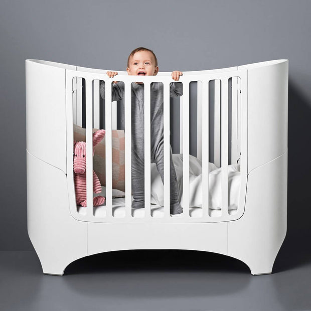 White convertible baby bed - Leander