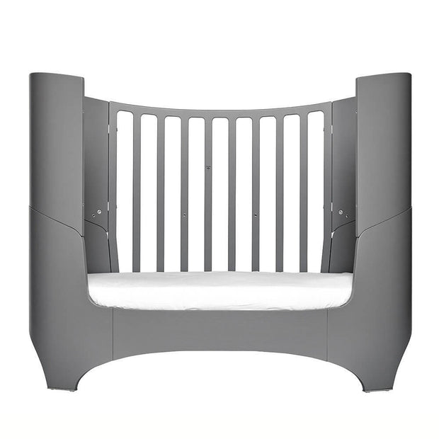 Grey convertible baby bed - Leander