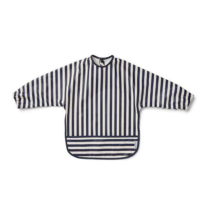 LIEWOOD - Cape bib - Navy stripes