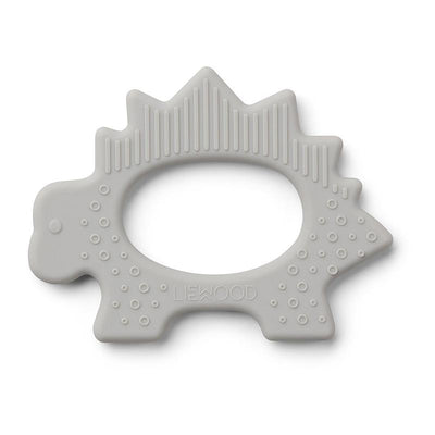 LIEWOOD - BPA free silicon teething ring - Dinosaur