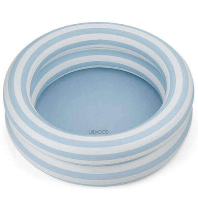 LIEWOOD - Leonore inflatable pool for kids - Sea blue stripes