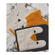 LIEWOOD - Set of 3 washcloths in organic cotton - Arctic animals - Scene