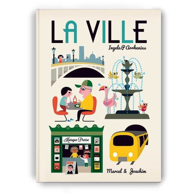 Giant children book - La ville